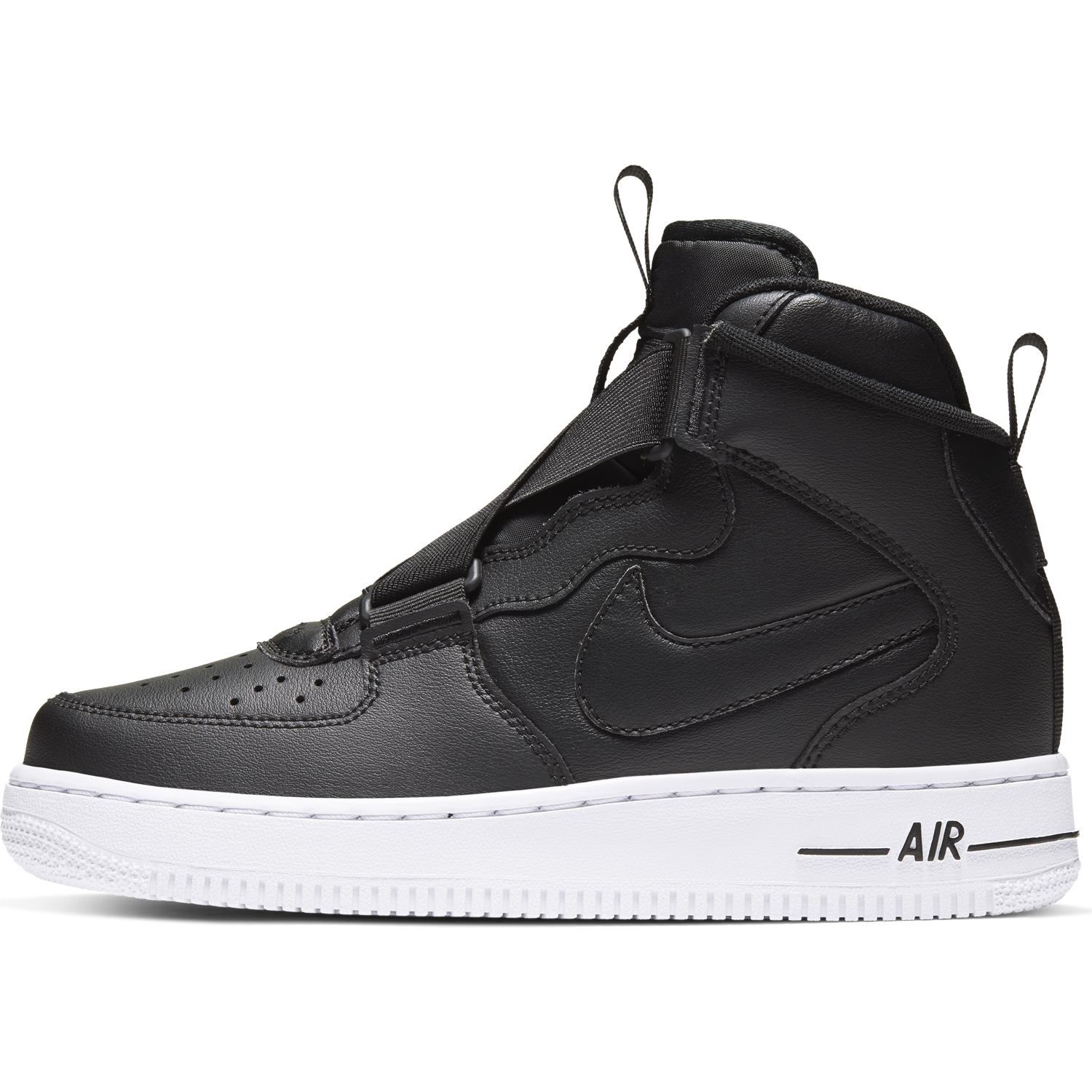 BUTY JUNIOR NIKE AIR FORCE 1 HIGHNESS CZARNE BQ3598 001