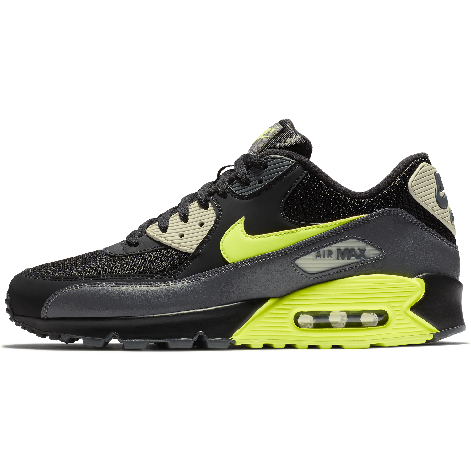competitive price 10bca 840dd ... BUTY MĘSKIE LIFESTYLE NIKE AIR MAX 90 ESSENTIAL CZARNE AJ1285-015 ...