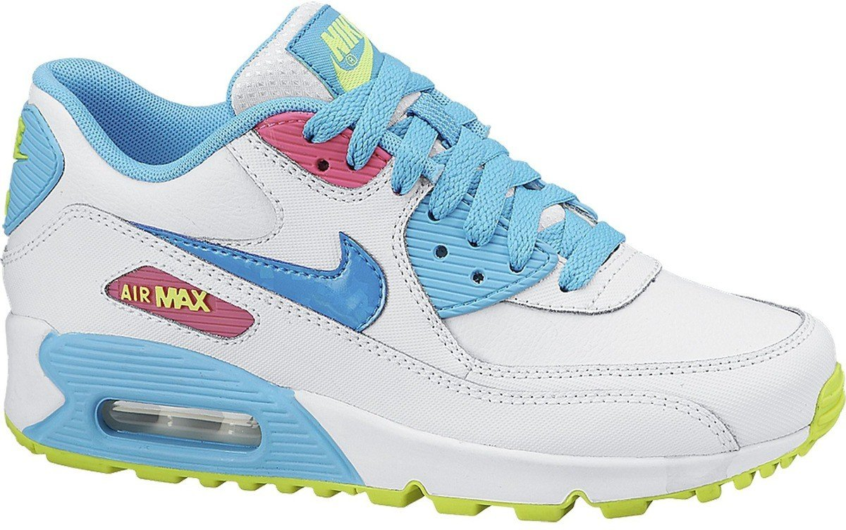 Buty Nike Air Max 90 2007 (GS) Blue Lagoon 345017 123