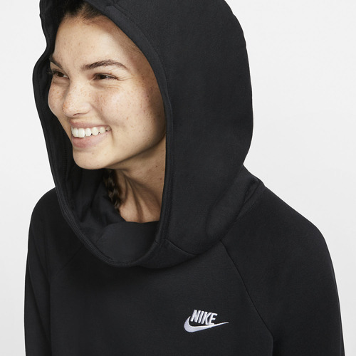 BLUZA DAMSKA NIKE ESSENTIAL FUNNEL-NECK FLEECE CZARNA BV4116-010