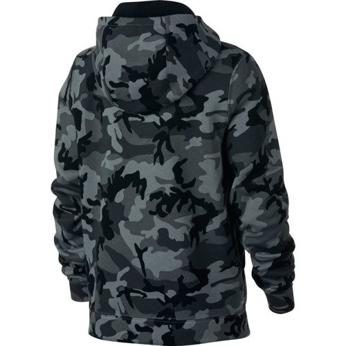 BLUZA JUNIOR LIFESTYLE NIKE NSW CLUB FLEECE CAMO AR4012-065