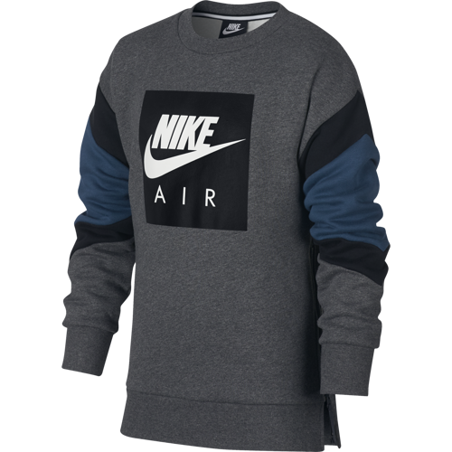 BLUZA JUNIOR NIKE AIR CREW AJ0114-071