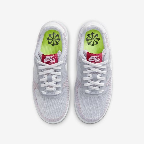 BUTY JUNIOR NIKE AIR FORCE 1 CRATER FLYKNIT SZARE DH3375-002