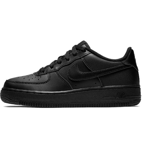 BUTY JUNIOR NIKE AIR FORCE 1 CZARNE 314192-009
