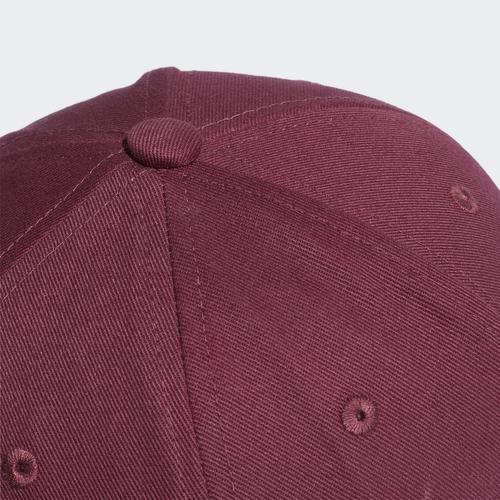 CZAPKA UNISEX ADIDAS TREFOIL BASEBALL CAP BORDOWA H35555